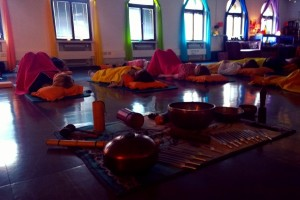 sound healing and vocal meditation at yoga shanti