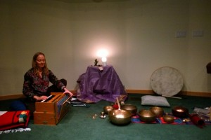 transform holiday stress into bliss with sound healing